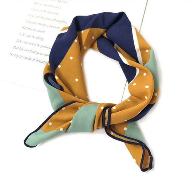 Women's Pin Up Style Cotton Scarf