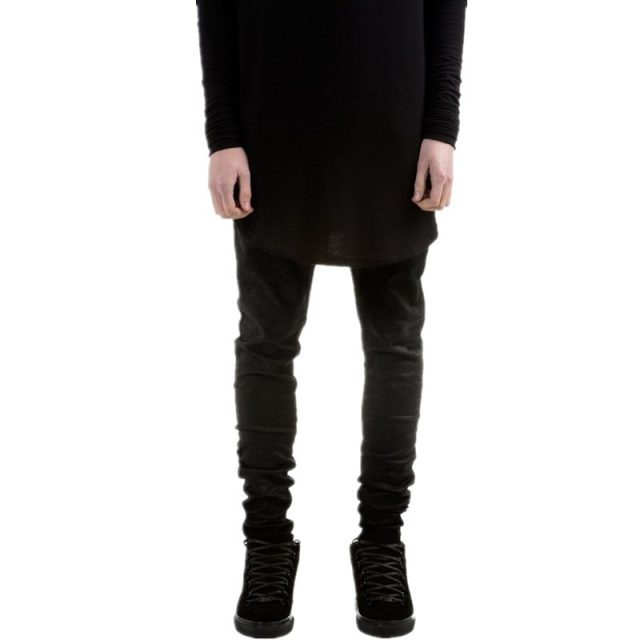 Men's Stylish Black Skinny Jeans