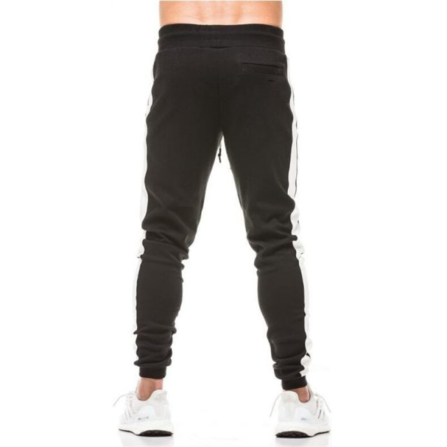 Side Stripe Printed Jogging Men's Pants