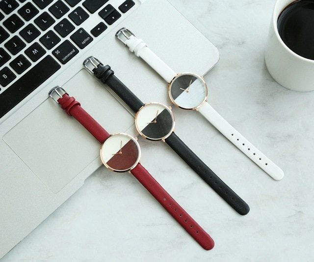 Women' Minimalistic Style Quartz Watches