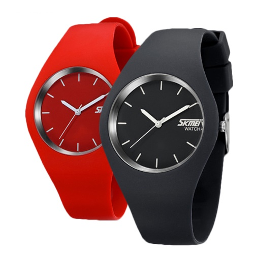 Casual Water-Resistant Unisex PU Leather Sport Watch