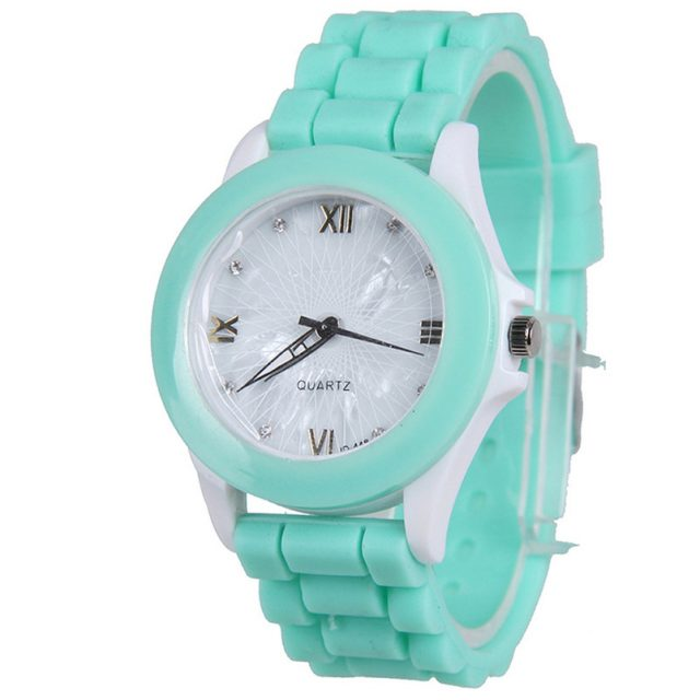 Silicone Sports Quartz Wristwatches